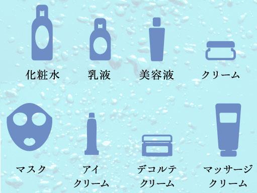 ライスビギンオールインワンエマルジョン8つの役割「乳液・化粧水・美容液・クリーム・マスク・デコルテクリーム・アイクリーム・マッサージクリーム」