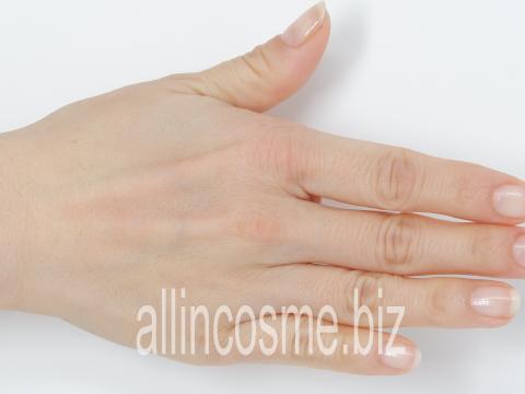 ストレピアマウスウォッシュで洗い終えた肌の写真